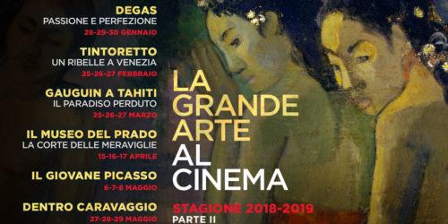 La Grande Arte – II Parte al Nuovo Cinema Castello