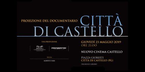 Proiezione speciale docufilm Città di Castello