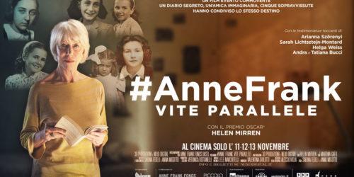 #ANNEFRANK – VITE PARALLELE